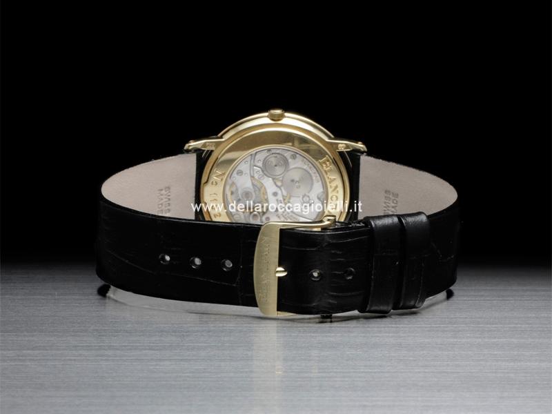 blancpain villeret extra plate watch 0021 1418. Black Bedroom Furniture Sets. Home Design Ideas