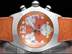 Corum Bubble Chronograph Orange 396.150.20