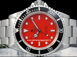 Rolex Submariner Red Customized Dial 14060