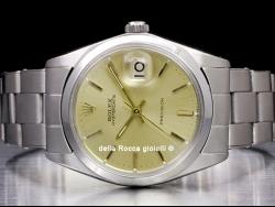 Rolex Oysterdate Precision 34 Champagne 6694