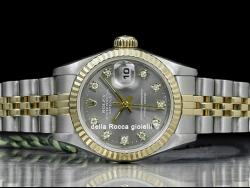 Rolex Datejust Lady 26 Diamonds Grey/Grigio 69173