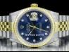 Rolex|Datejust 36 Diamonds Blue/Blu|16233