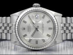 Rolex Datejust 36 Jubilee Silver Wide Boy /Argento Wide Boy 1603