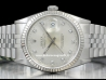 Rolex|Datejust 36 Diamonds Silver/Argento|16234