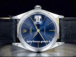 Rolex Oysterdate Precision 34 Blue/Blu 6694