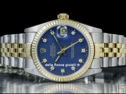 Rolex Datejust Lady 31 Diamonds Blue/Blu 68273