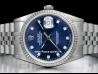 Rolex Datejust 36 Diamonds Blue/Blu 16234