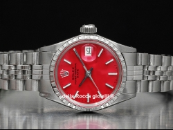 Rolex Date Lady 26 Jubilee Red/Rosso 6524