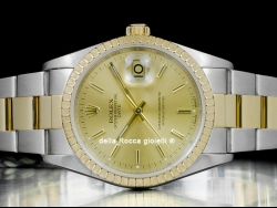 Rolex Date 34 Oyster Champagne 15223