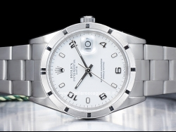 Rolex Date 34 Oyster White/Bianco 15210