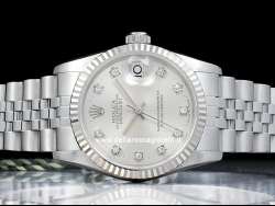Rolex Datejust 31 Diamonds Silver/Argento 68274