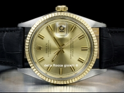 Rolex Datejust 36 Champagne Wide Boy 1601