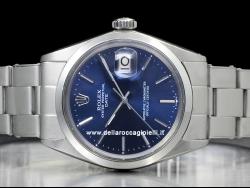 Rolex Date 34 Blue/Blu 1500