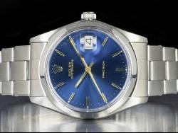 Rolex Oysterdate Precision 34 Blu Oyster Klein Blue  6694
