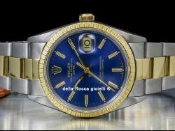 Rolex Date 34 Oyster Blue/Blu 15223