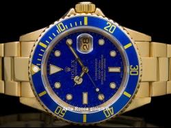 Rolex Submariner Data Lapis Lazuli Dial 16618