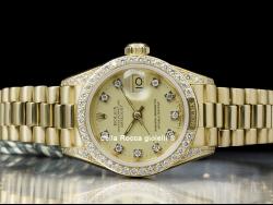 Rolex Datejust Lady 26 Diamonds Champagne 69158