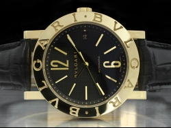 Bulgari Bulgari 18kt Gold Black/Nero BB38GL