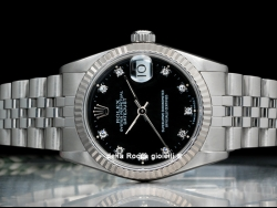 Rolex Datejust 31 Diamonds Black/Nero 68274