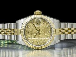 Rolex Datejust 26 Jubilee Champagne Diamonds 69173