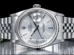 Rolex Datejust 36 Silver/Argento 16220