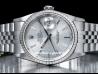 Rolex|Datejust 36 Silver/Argento|16220