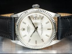 Rolex Datejust 36 Silver/Argento 1601