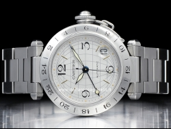 Cartier Pasha C Time Zone W31029M7 / 2377