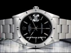 Rolex Date 34 Oyster Black/Nero 15210