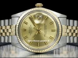 Rolex Datejust 36 Jubilee Champagne Wide Boy 1601