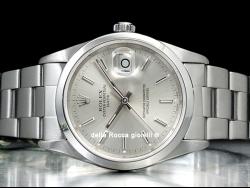 Rolex Date 34 Silver/Argento 15200