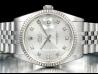Rolex Datejust 36 Diamonds Silver/Argento 16234