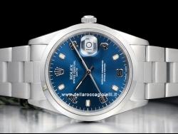 Rolex Date 34 Oyster Blue/Blu 15200