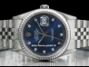 Rolex|Datejust 36 Diamonds Blue/Blu|16234