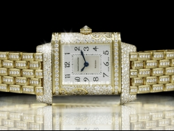 Jaeger LeCoultre Reverso Florale Tiare Gold And Diamonds 265.14.04