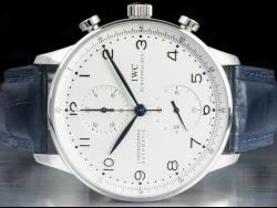 IWC Portuguese Chronograph White/Bianco IW371417