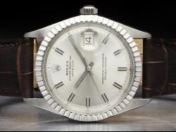 Rolex Datejust 36 Silver/Argento Wide Boy 1601-3