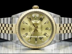 Rolex Date 34 Jubilee Champagne Diamonds 15053