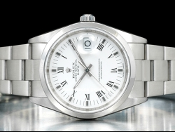 Rolex Date 34 Oyster White/Bianco 15200