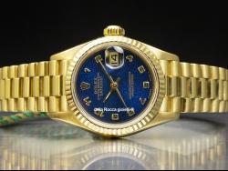Rolex Datejust Lady 26 Gold Blue/Blu 69178