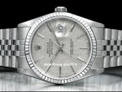 Rolex Datejust 36 Jubilee Bark Silver/Argento Corteccia 16234