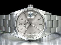 Rolex Date 34 Oyster Silver/Argento 15200