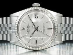 Rolex Datejust 36 Jubilee Bark Silver/Argento Corteccia 1601