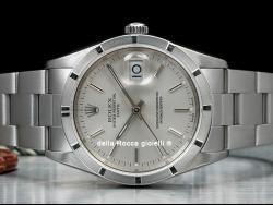 Rolex Date 34 Silver/Argento 15210