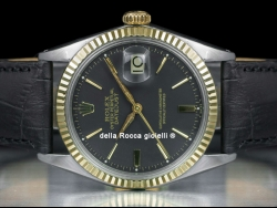 Rolex Datejust 36 Black/Nero 1601