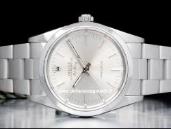 Rolex Air-King 34 Silver Dial 14000