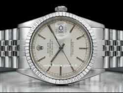Rolex Datejust 36 Jubilee Silver Tapisserie/Argento Tapisserie 16030