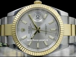 Rolex Datejust II 41 Silver / Argento 126333