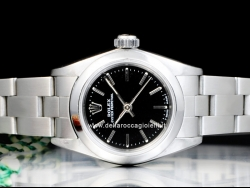 Rolex Oyster Perpetual 24 Oyster Black/Nero 67180