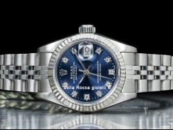 Rolex Datejust Lady 26 Diamonds Blue/Blu 69174